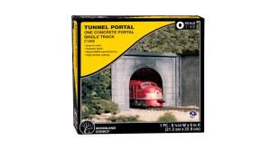 Woodland Scenics C1266 O Scale Concrete Single Tunnel Portal