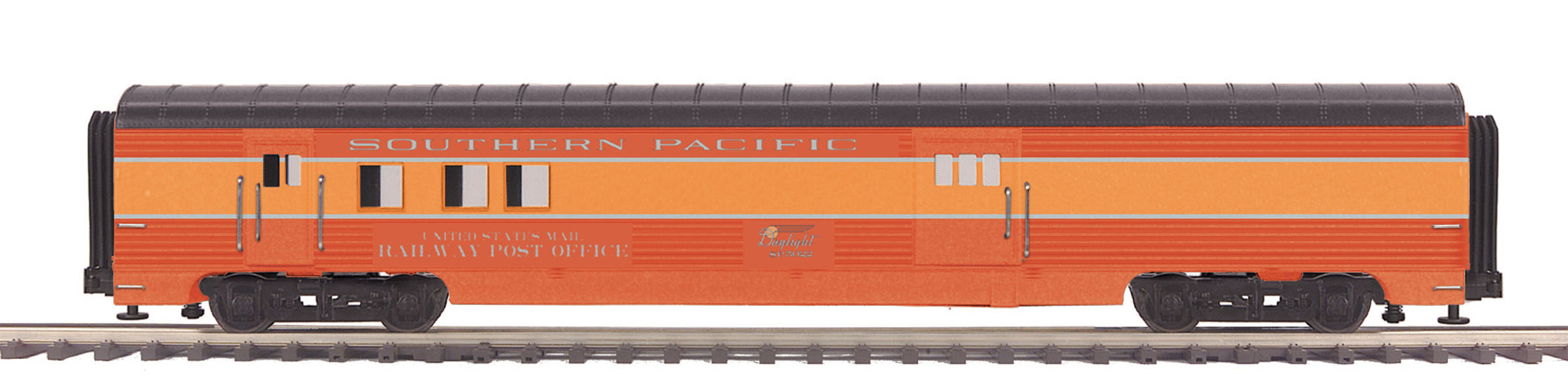 mth 20 68239 o southern pacific daylight 70 39 abs rpo ribbed passenger car ebay. Black Bedroom Furniture Sets. Home Design Ideas