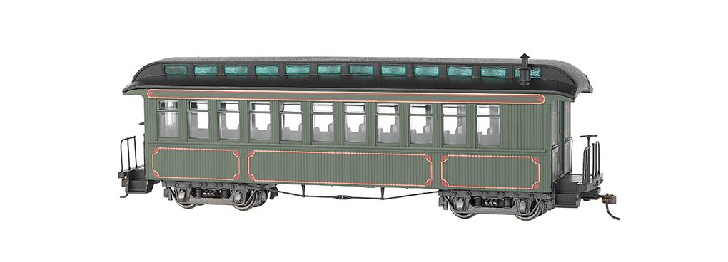 bachamnn 26202 on30 painted unlettered wood coach observation car cad picclick ca. Black Bedroom Furniture Sets. Home Design Ideas