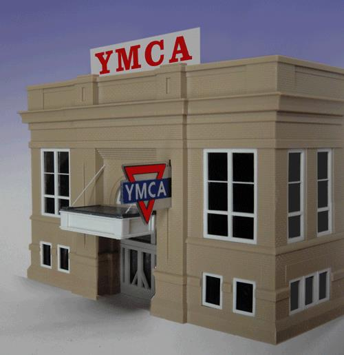 Miller Engineering 30972 Animated Neon Sign YMCA Combo Kit This is a Miller Engineering 30972 All Scales Animated Neon Sign YMCA Combo Kit - Small Logo & Name. George Williams founded the YMCA in London, England in 1844. Today, it's a worldwide movement of national and local organizations open to all. This kit includes two signs, a rooftop YMCA that comes with a second set of contacts so it can be mounted flush against the front of your building if desired. The second sign is double sided with the YMCA logo. Each includes a battery holder and all necessary electronics for plug-and-play installation. Requires AAA batteries (not included).Condition: Factory New (C-9All original; unused; factory rubs and evidence of handling, shipping and factory test run.Standards for all toy train related accessory items apply to the visual appearance of the item and do not consider the operating functionality of the equipment.Condition and Grading Standards are subjective, at best, and are intended to act as a guide. )Operational Status: FunctionalThis item is brand new from the factory.Original Box: Yes (P-9May have store stamps and price tags. Has inner liners.)Manufacturer: Miller EngineeringModel Number: 30972Road Name: YMCAMSRP: $49.95Scale/Era: HO ModernModel Type: AccessoriesAvailability: Ships in 1 Business Day!The Trainz SKU for this item is P11588971. Track: 11588971 - No Location Assigned - 001 - TrainzAuctionGroup00UNK - TDIDUNK