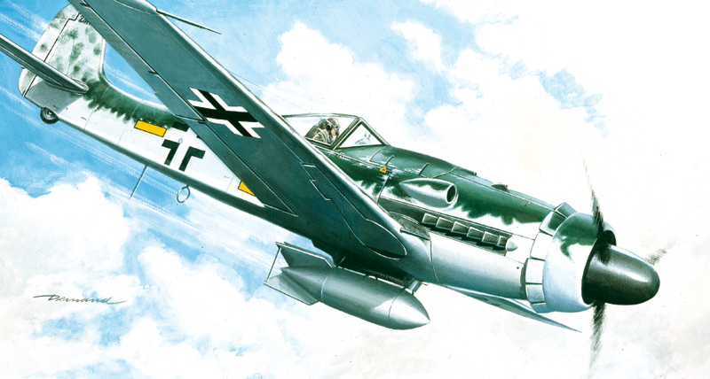 Italeri 1128 1/72 FW 190 D-9 This is Italeri 1128 1/72 FW 190 D-9. Focke-Wulf D-9. Model kit. The idea of installing a Junkers Jumo 213A engine (until then mainly used on bombers) in a Focke-Wulf 190 airframe was born of a need to improve the high altitude performance of the aircraft: the A and F versions, in fact, suffered a significant drop in speed above 7,000m. Armed with two 20mm cannon and two 13mm guns, the D-9 was immediately a favourite with pilots, who considered it an aircraft equal to the P-51 Mustang. In its secondary role as a ground strike aircraft, the Dora 9 performed excellently during Operation Bodenplatte, the ?ast stand?of the 3rd Reich in the Ardennes. About 650-700 D versions are thought to have been made, of which four still exist today.Marking options:1. yellow 2, from 2./JG 26 during 1944 with standard canopy2. Black 12 from 1./JG 54 in 1945 with blown canopyModel length (cm) 14Box dimensions (mm) 258 x 162 x 38Condition: Factory NewOperational Status: FunctionalThis item is brand new from the factory.Original Box: YesManufacturer: ItaleriModel Number: 1128MSRP: $18.00Category 1: Other ToysCategory 2: Model KitsAvailability: Ships in 3 to 5 Business Days.The Trainz SKU for this item is P11969304. Track: 11969304 - FS - 001 - TrainzAuctionGroup00UNK - TDIDUNK