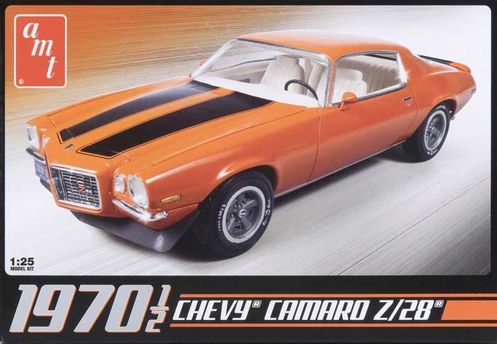 AMT 635 1:25 '1970 Chevy Camaro Z28 Plastic Model Kit