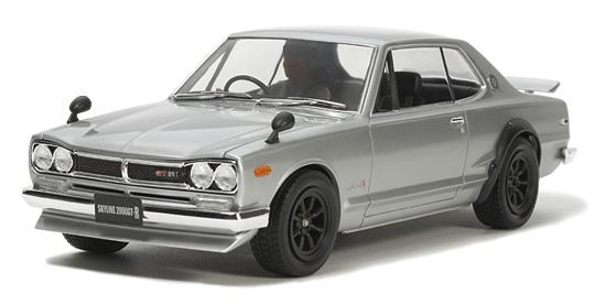 Tamiya 24335 1/24 Nissan Skyline 2000 GT-R Street Custom Car