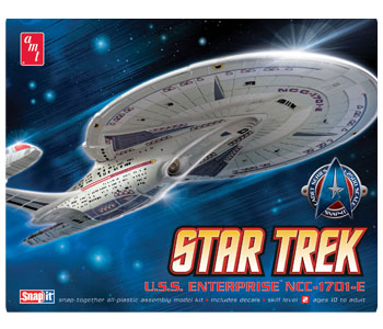 AMT 663 1/2500 Star Trek USS Enterprise NCC1701E (Snap)