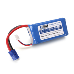E-Flite B12503S LiPo Battery 1250mAh 3S 11.1V 20C, 13AWG EC3 This is an E-flite B12503S LiPo Battery 1250mAh 3S 11.1V 20C, 13AWG EC3. Key Features: Capable of maximum continuous discharge rates up to 20C, placing this battery among the most powerful LiPo battery packs in its classAble to power even the highest performance modelsEquipped with balancing leads and connectors that are compatible with most balancers and balancing chargers*Equipped with E-flite® EC3 connector on main power leadsPlug-and-play use with E-flite ESCs and chargers right out of the package*Please see instructions for more informationOverview: E-flite High-Power Lithium Polymer batteries offer an excellent blend of weight, power and performance. Available in a wide variety of capacities and voltages, there's a battery perfect for almost any application from indoor slow flyer to large-scale sport and aerobatic airplane models, as well as micro to mid-sized helicopter models. WARNING: Lithium Polymer (LiPo) batteries are significantly more volatile than the alkaline, Ni-Cd or Ni-MH batteries used in RC applications. All instructions and warnings found on the inside of this card must be followed exactly. Mishandling of LiPo batteries can result in fire. By handling, charging or using this LiPo battery you assume all risks associated with LiPo batteries. If you do not agree with these conditions, return this LiPo battery in new, unused condition to the place of purchase immediately. Product Specifications: Type: Lithium PolymerCapacity: 1250mAhVoltage: 11.1VConnector Type: Main Power Leads: E-flite EC3 / Balancing: Standard 4-PinWire Gauge: 13Number of Cells: 3Weight: 4.3 oz (122g)Configuration: 3SLength: 2.60 in (66.0mm)Width: 1.35 in (34.3mm)Height: 1.05 in (26.7mm)Maximum Continuous Discharge : 20CMaximum Continuous Current : 25ACondition: Factory NewOperational Status: FunctionalThis item is brand new from the factory.Original Box: YesManufacturer: E-fliteModel Number: B12503SMSRP: $33.99Categor