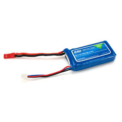 E-Flite B4502SJ30 LiPo Battery 450mAh 2S 7.4V 30C, 18AWG JST This is an E-flite B4502SJ30 450mAh 2S 7.4V 30C LiPo, 18AWG JST. Key Features: Capable of maximum continuous discharge rates up to 30CEquipped with balancing leads and a connector that are compatible with most balancers and balancing chargersEquipped with JST connector on main power leadsPerfect battery for Small indoor 3D, slowflyer, or scale airplanes using Park 180 and Park 250 motors.Overview:E-flite High-Power Series Lithium Polymer Batteries offer an excellent blend of weight, power and performance. Available in a wide variety of capacities and voltages, there's a battery perfect for almost any application, from indoor slow flyer to large-scale sport and aerobatic airplane models as well as micro to mid-sized helicopter models. WARNING: Lithium Polymer (Li-Po) batteries come partially charged and are significantly more volatile than the alkaline, Ni-Cd or NiMH batteries used in RC applications. Keep batteries out of reach of children, unless supervised by a responsible adult. All interactions and warnings found on the sheet inside of this cad must be followed exactly. Mishandling of Li-Po batteries can result in a fire. Before handling and first use, visually and physically inspect the battery pack, wire leads, and connectors to ensure there are no loose connections which may cause short circuit and eventual fire. By handling, charging or using this Li-Po battery you assume all risks associated with Li-Po batteries. If you do not agree with these conditions, return this Li-Po battery in new, unused condition to the place of purchase immediately. Product Specifications:Type: Lithium PolymerCapacity: 450mAhVoltage: 7.4VConnector Type: JSTWire Gauge: 18Number of Cells: 2Weight: 1.0 oz (28.4g)Configuration: 2SLength: 2.15 in (54.6mm)Width: 1.15 in (29.2mm)Height: 0.40 in (10.2mm)Maximum Continuous Discharge : 30CMaximum Continuous Current : 13.5ACharge Protection Circuitry: NoCondition: Factory NewOpera