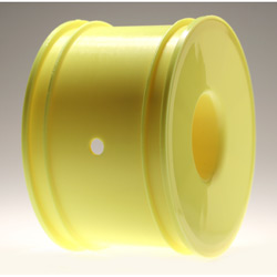 """Losi A7743 Standard Truggy Dish Wheel, Yellow: 8T (4) This is a Losi A7743 Standard Truggy Dish Wheel, Yellow: 8T (4). Features: Use popular standard size Truggy tires on the 8IGHT-T & 8IGHT-T RTR, Designed especially for the 8IGHT-T, no longer have to worry which offset will fit, Uses standard 17mm hex, Allows the use of popular """"MAXX"""" and standard size racing tires on the 8T, Zero offset gives minimal scrub radius, No change to vehicle track width, Manufactured from Losi's high strength wheel material.Condition: Factory NewOperational Status: FunctionalOriginal Box: YesManufacturer: LosiModel Number: A7743MSRP: $25.99Category 1: Other ToysCategory 2: Radio Control ToysAvailability: Ships within 3 Business Days!The Trainz SKU for this item is P12079205. Track: 12079205 - 1028-A (Suite 2740-200)  - 001 - TrainzAuctionGroup00UNK - TDIDUNK"""