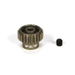 Team Losi Racing 332021 Aluminium Pinion Gear 21-Tooth, 48-Pitch This is a Team Losi Racing 332021 Pinion Gear 21-Tooth, 48-Pitch, Aluminium. Features: Team Losi Racing Aluminum 48 Pitch Pinion Gear. This gear is the perfect choice for any Team Losi Racing 1/10 scale vehicle that uses 48 pitch gears. This pinion gear has been machined from high quality aluminum, and hardcoated for durability. Choose from multiple tooth count options to fine tune the gear ratio of your vehicle. Package includes one pinion gear and one set screw.Condition: Factory NewOperational Status: FunctionalThis item is brand new from the factory.Original Box: YesManufacturer: Team Losi RacingModel Number: 332021MSRP: $7.99Category 1: Other ToysCategory 2: Radio Control ToysAvailability: Ships in 3 to 5 Business Days.The Trainz SKU for this item is P12075614. Track: 12075614 - FS - 001 - TrainzAuctionGroup00UNK - TDIDUNK