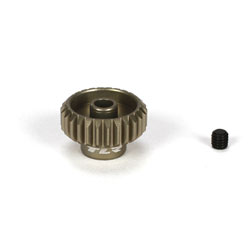 Team Losi Racing 332026 Aluminium Pinion Gear 26-Tooth, 48-Pitch This is a Team Losi Racing 332026 Pinion Gear 26-Tooth, 48-Pitch, Aluminium. Features: Team Losi Racing Aluminum 48 Pitch Pinion Gear.This is Gunmetal colored and Made of metal. This gear is the perfect choice for any Team Losi Racing 1/10 scale vehicle that uses 48 pitch gears. This pinion gear has been machined from high quality aluminum, and hardcoated for durability. Choose from multiple tooth count options to fine tune the gear ratio of your vehicle. Package includes one pinion gear and one set screw.Condition: Factory NewOperational Status: FunctionalThis item is brand new from the factory.Original Box: YesManufacturer: Team Losi RacingModel Number: 332026MSRP: $7.99Category 1: Other ToysCategory 2: Radio Control ToysAvailability: Ships in 3 to 5 Business Days.The Trainz SKU for this item is P12075619. Track: 12075619 - FS - 001 - TrainzAuctionGroup00UNK - TDIDUNK