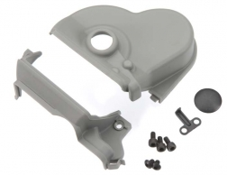 Traxxas 3977R Single Motor Gear Cover: E-Maxx This is a Traxxas 3977R Single Motor Gear Cover: E-Maxx. Features: E-MAXX GEAR COVER AND MOTOR PLATE FOR SINGLE MOTOR INSTALLATION: The E-Maxx was designed from the ground-up to handle extreme brushless torque and power. Traxxas makes it easy to convert from dual motors to a single brushless motor setup. Choose your favorite electric power plant and bolt it in using the Traxxas single motor gear cover and blue-anodized aluminum motor plate. The two-piece gear cover keeps dirt and debris out, while allowing easy access to the pinion and spur gear. A removable plug makes slipper clutch adjustments easy. These parts give your brushless install a clean factory fit and finish. Fits E-Maxx models #3905 and #3903.Condition: Factory NewOperational Status: FunctionalThis item is brand new from the factory.Original Box: YesManufacturer: TraxxasModel Number: 3977RMSRP: $4.50Category 1: Other ToysCategory 2: Radio Control ToysAvailability: Ships within 3 Business Days!The Trainz SKU for this item is P12087076. Track: 12087076 - 1011-E (Suite 2740-200)  - 001 - TrainzAuctionGroup00UNK - TDIDUNK
