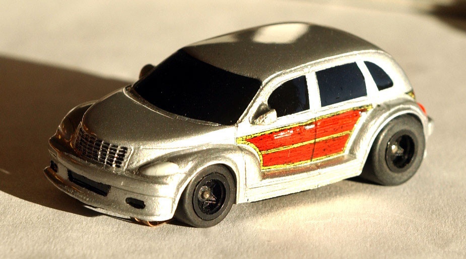 Car Toys Aurora Co: AFX 9491 HO Slot Car Woody Cruiser SRT High Performance
