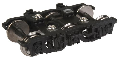 Walthers 920-2114 HO GSC Lightweight 6-Wheel Passenger Truck from GN D This is a Walthers 920-2114 HO GSC Lightweight 6-Wheel Passenger Truck from GN Dome 1 Pair, Black. Features: Easy Upgrade for New & Older Passenger Cars, Fully Assembled, Ready to Use, Built-in Electrical Contacts for Car Lighting, 36 Turned Metal Wheels.Condition: Factory New (C-9All original; unused; factory rubs and evidence of handling, shipping and factory test run.Standards for all toy train related accessory items apply to the visual appearance of the item and do not consider the operating functionality of the equipment.Condition and Grading Standards are subjective, at best, and are intended to act as a guide. )Operational Status: FunctionalThis item is brand new from the factory.Original Box: Yes (P-9May have store stamps and price tags. Has inner liners.)Manufacturer: WalthersModel Number: 920-2114MSRP: $14.98Scale/Era: HO ModernModel Type: Wheels, Trucks, CouplersAvailability: Ships in 3 to 5 Business Days.The Trainz SKU for this item is P12110141. Track: 12110141 - FS - 001 - TrainzAuctionGroup00UNK - TDIDUNK