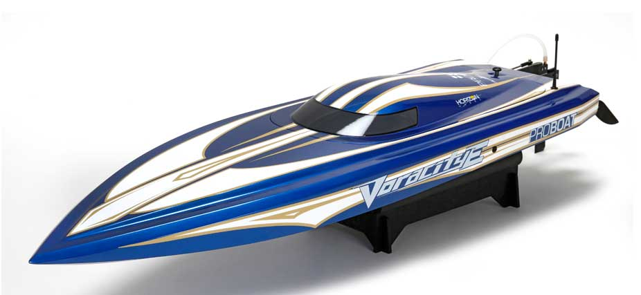 Pro Boat 08018 Voracity Type E 36-inch Brushless Deep-V RTR This is Pro Boat 08018 Voracity Type E 36-inch Brushless Deep-V RTR. Features capable of reaching speeds of 50+ mph. Includes Spektrum™ 2.4GHz DX2E DSMR Radio System with SR310 Receiver, water-cooled Dynamite® marine 120-amp ESC (6S compatible). Optimized hull constructed from lightweight fiberglass, offset rudder, rudder-mount, and prop strut built of high-strength aluminum. High torque, waterproof steering servo, sealed twist latch canopy system, waterproof electronics, boat stand included.Condition: Factory NewOperational Status: FunctionalThis item is brand new from the factory.Original Box: YesManufacturer: Pro BoatModel Number: 08018MSRP: $599.99Category 1: Other ToysCategory 2: Radio Control ToysAvailability: Ships in 1 Business Day!The Trainz SKU for this item is P12155926. Track: 12155926 - No Location Assigned - 001 - TrainzAuctionGroup00UNK - TDIDUNK