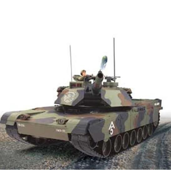 Hobby Engine 811B M1A1 Abrams Tank 27.095mhz This is Hobby Engine R/C 811B M1A1 Abrams Tank 27.095mhz. Features: Full function, Fire while on the move or stationary, Cannon moves up and down with machine gun sound, Frequency: 26.995 / 27.095 MHz, Realistic electronic sound and lights, Turret rotates left & right, Body rotates 320 degrees, Climb up 35-degree slopes, Individual suspension, Weathered finishing.Condition: Factory NewOperational Status: FunctionalThis item is brand new from the factory.Original Box: YesManufacturer: Hobby EngineModel Number: 811BMSRP: $169.99Category 1: Other ToysCategory 2: Radio Control ToysAvailability: Ships in 1 Business Day!The Trainz SKU for this item is P12141610. Track: 12141610 - No Location Assigned - 001 - TrainzAuctionGroup00UNK - TDIDUNK
