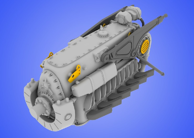 Eduard 648059 1:48 DB 601A/N Engine for Eduard Aircraft This is an Eduard 648059 1:48 DB 601A/N Engine for Eduard Aircraft. This is recommended for Eduard Kit. Set consists of 18 resin parts and photo-etched fret. This set contains the main engine block with all its aggregates like injection pump, primer, propeller reducer, fittings, tubes, filters, etc. The engine housing is made very thin, so with the photo-etched internal structure details it looks very realistic. Products: Brassin, Type: Aircraft, Tag: Engine, and Weight: 0.065 kg.Condition: Factory NewOperational Status: FunctionalThis item is brand new from the factory.Original Box: YesManufacturer: EduardModel Number: 648059MSRP: $39.95Category 1: SuppliesCategory 2: DecalsAvailability: Ships in 3 to 5 Business Days.The Trainz SKU for this item is P12015119. Track: 12015119 - FS - 001 - TrainzAuctionGroup00UNK - TDIDUNK