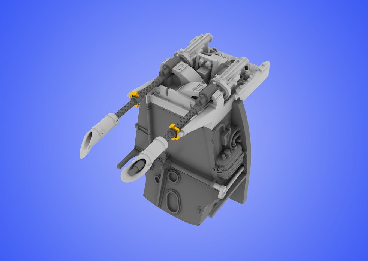 Eduard 648060 1:48 Bf 109E MG 17 Mount for Eduard Aircraft This is an Eduard 648060 1:48 Bf 109E MG 17 Mount for Eduard Aircraft. This is recommended for Eduard Kit. Set (contains 8 resin parts and PE fret) consists from two machine guns, their supports and all accessories including ammo boxes. Separate gun-mount housing is made extremely thin. As a bonus you can found in this set two ammo boxes for external use (outside of the aircraft for dioramas, etc.). Products: Brassin, Type: Aircraft, Tag: Armament Mount, and Weight: 0.046 kg.Condition: Factory NewOperational Status: FunctionalThis item is brand new from the factory.Original Box: YesManufacturer: EduardModel Number: 648060MSRP: $39.95Category 1: SuppliesCategory 2: DecalsAvailability: Ships in 3 to 5 Business Days.The Trainz SKU for this item is P12015120. Track: 12015120 - FS - 001 - TrainzAuctionGroup00UNK - TDIDUNK