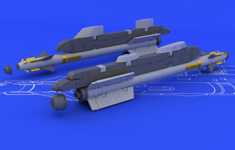 Eduard 648071 1:48 R-73/AA-11 Archer for Aircraft (Resin) This is an Eduard 648071 1:48 R-73/AA-11 Archer for Aircraft (Resin). Soviet infrared-guided (heat-seeking) AA missile, used since 1973. Suitable for MiG-29, MiG-31, Su-27, Su-34, Su-35. Can be used also by modernized versions of MiG-21, MiG-23, Su-24, Su-25 and by some soviet hellicopters. Brassin set contains four rockets with rack adapter. Products: Brassin, Type: Aircraft, Tags: Armament & Missile, and Weight: 0.056 kg.Condition: Factory NewOperational Status: FunctionalThis item is brand new from the factory.Original Box: YesManufacturer: EduardModel Number: 648071MSRP: $14.95Category 1: AccessoriesCategory 2: OtherAvailability: Ships in 3 to 5 Business Days.The Trainz SKU for this item is P12041528. Track: 12041528 - FS - 001 - TrainzAuctionGroup00UNK - TDIDUNK