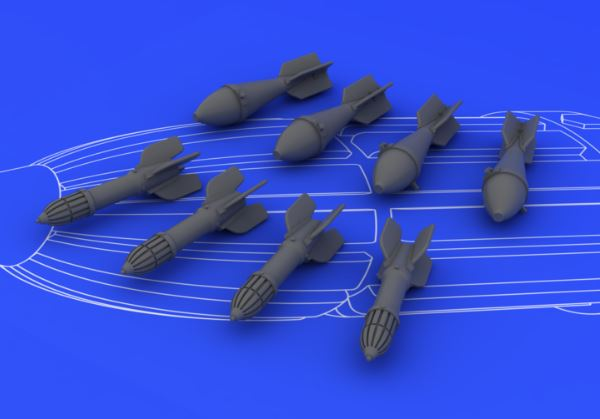 Eduard 648073 1:48 IL-2 Weapon Set (FAB 50/RS 132) for Tamiya Aircraft This is an Eduard 648073 1:48 IL-2 Weapon Set (FAB 50/RS 132) for Tamiya Aircraft (Resin). This is recommended for Tamiya Kit. Products: Brassin, Type: Aircraft, Tags: Armament & Weapon, and Weight: 0.037 kg.Condition: Factory NewOperational Status: FunctionalThis item is brand new from the factory.Original Box: YesManufacturer: EduardModel Number: 648073MSRP: $12.95Category 1: AccessoriesCategory 2: OtherAvailability: Ships in 3 to 5 Business Days.The Trainz SKU for this item is P12039734. Track: 12039734 - FS - 001 - TrainzAuctionGroup00UNK - TDIDUNK