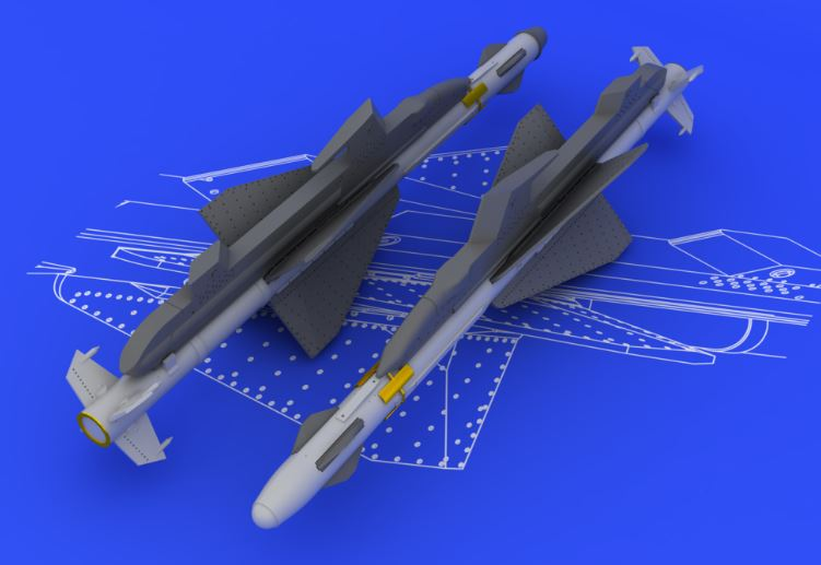 Eduard 648090 1:48 R-23T/AA-7 Apex for Aircraft (Photo-Etched & Resin) This is an Eduard 648090 1:48 R-23T/AA-7 Apex for Aircraft (Photo-Etched & Resin). Products: Brassin, Type: Aircraft, Tags: Armament & Missiles, and Weight: 0.063 kg.Condition: Factory NewOperational Status: FunctionalThis item is brand new from the factory.Original Box: YesManufacturer: EduardModel Number: 648090MSRP: $12.95Category 1: AccessoriesCategory 2: OtherAvailability: Ships in 3 to 5 Business Days.The Trainz SKU for this item is P12040086. Track: 12040086 - FS - 001 - TrainzAuctionGroup00UNK - TDIDUNK