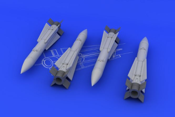 Eduard 648097 1:48 AIM-54A Phoenix for Aircraft (Resin) This is an Eduard 648097 1:48 AIM-54A Phoenix for Aircraft (Resin). Products: Brassin, Type: Aircraft, Tags: Armament & Missile, and Weight: 0.082 kg.Condition: Factory NewOperational Status: FunctionalThis item is brand new from the factory.Original Box: YesManufacturer: EduardModel Number: 648097MSRP: $14.95Category 1: AccessoriesCategory 2: OtherAvailability: Ships in 3 to 5 Business Days.The Trainz SKU for this item is P12041633. Track: 12041633 - FS - 001 - TrainzAuctionGroup00UNK - TDIDUNK