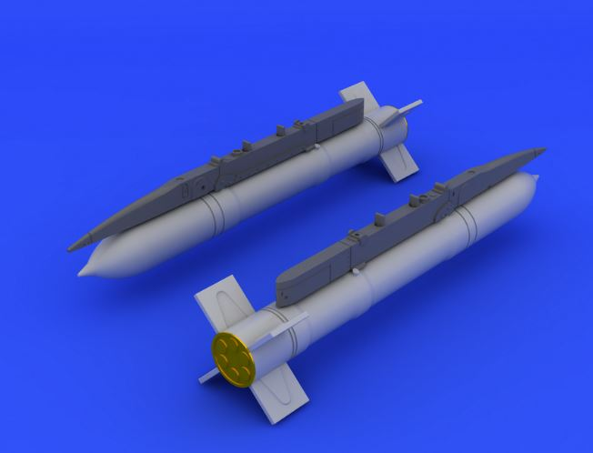 Eduard 648136 1:48 S-24 Rocket or Eduard Aircraft (Photo-Etched & Resi This is an Eduard 648136 1:48 S-24 Rocket or Eduard Aircraft (Photo-Etched & Resin). This is recommended for Eduard Kit. Products: Brassin, Type: Aircraft, Tags: Armament & Rocket, and Weight: 0.033 kg.Condition: Factory NewOperational Status: FunctionalThis item is brand new from the factory.Original Box: YesManufacturer: EduardModel Number: 648136MSRP: $12.95Category 1: AccessoriesCategory 2: OtherAvailability: Ships in 3 to 5 Business Days.The Trainz SKU for this item is P12040194. Track: 12040194 - FS - 001 - TrainzAuctionGroup00UNK - TDIDUNK
