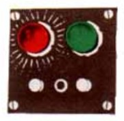 Acme 498 Switch Controller w/Indicator Lights (Flush Mounting) Will operate all switches and switch motors. including Lionel, Atlas and others. Light remains on after corresponding button is pressed. Instructions, red and green light bulbs, mounting screws and self-stick number sheet are included.Complete with contact plate.Condition: Factory NewOperational Status: FunctionalThis item is brand new from the factory.Original Box: YesManufacturer: AcmeModel Number: 498MSRP: $11.99Category 1: SuppliesCategory 2: OtherAvailability: Ships in 1 Business Day!The Trainz SKU for this item is P12050402. Track: 12050402 - 4055-C (Suite 2730-100)  - 001 - TrainzAuctionGroup00UNK - TDIDUNK