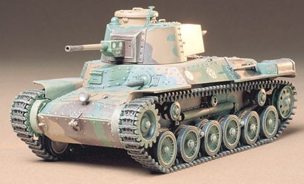 Tamiya 35137 JAPANESE TYPE 97 LATE 1:35 This is a Tamiya 35137 1/35 Japanese Type 97 Late Version - CA237. Features: This is a 1/35 scale plastic model assembly kit. Length: 159mm, width: 67mm. The riveted body plates typical of Japanese AFVs of the time are accurately captured. Separate parts are used to capture the unique suspension setup with aplomb. Removable engine grille allows inspection of the air cooler and other parts depicted inside. The 47mm main gun offers vertical movement, while the Type 97 machine gun is fully movable. Choose between open or closed cupola hatch. No less than 6 marking options included!Condition: Factory NewOperational Status: FunctionalThis item is brand new from the factory.Original Box: YesManufacturer: TamiyaModel Number: 35137MSRP: $28.00Category 1: Other ToysCategory 2: Model KitsAvailability: Ships in 2 Business Days!The Trainz SKU for this item is P12155770. Track: 12155770 - No Location Assigned - 001 - TrainzAuctionGroup00UNK - TDIDUNK