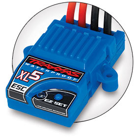 Traxxas 3018R Waterproof XL-5 Electronic Speed Control Low Voltage Det This is a Traxxas 3018R Waterproof XL-5 Electronic Speed Control Low Voltage Detection. Features: Designed and engineered by Traxxas, the XL-5 Electronic Speed Control handles the elements while smoothly supplying power to the motor. This high-performance ESC is packed with impressive specifications that are normally only found on more expensive high-end replacement units. The XL-5 features a completely waterproof design, three throttle profiles, Thermal Shutdown Protection, 4-7 cell compatibility, and built-in BEC. High frequency operation combined with ultra-low resistance make the XL-5 an efficient and ultra-smooth fully proportional speed control. An exclusive feature on the XL-5 is the patented Training Mode™. This profile reduces the overall power output of the XL-5 by 50% making it easier for young or new drivers to develop their control skills before unleashing full-power operation. XL-5 is equipped with two-stage low-voltage detection (LVD) to allow LiPo battery use. The XL-5 is manufactured by Traxxas to ensure the highest level of quality and support. The XL-5 is backed by the Traxxas Lifetime Electronics Warranty.Condition: Factory NewOperational Status: FunctionalThis item is brand new from the factory.Original Box: YesManufacturer: TraxxasModel Number: 3018RMSRP: $85.00Category 1: Other ToysCategory 2: Radio Control ToysAvailability: Ships in 1 Business Day!The Trainz SKU for this item is P12069295. Track: 12069295 - No Location Assigned - 001 - TrainzAuctionGroup00UNK - TDIDUNK