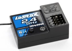 Traxxas 3046 Receiver, LaTrax Micro, 2.4GHz 3-Channel This is a Traxxas 3046 Receiver, LaTrax Micro, 2.4GHz 3-Channel. Features: Repair or upgrade your Traxxas LaTrax rally car with this micro 2.4GHz three-channel receiver. With 2.4GHz technology, this receiver delivers reliable long-range performance. The radio system automatically finds an open channel, eliminating the worry of radio conflicts and interference.More Information:Fits the Traxxas 75054 LaTrax rally car2.4GHz technology offers dependable long-range performanceRadio system automatically finds an open channelCondition: Factory NewOperational Status: FunctionalThis item is brand new from the factory.Original Box: YesManufacturer: TraxxasModel Number: 3046MSRP: $25.00Category 1: Other ToysCategory 2: Radio Control ToysAvailability: Ships in 3 to 5 Business Days.The Trainz SKU for this item is P12071499. Track: 12071499 - FS - 001 - TrainzAuctionGroup00UNK - TDIDUNK