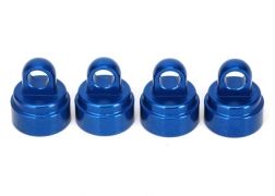 Traxxas 3767A Aluminium Shock Caps, Blue (4): Fits All Ultra Shocks This is a Traxxas 3767A Aluminium Shock Caps, Blue (4): Fits All Ultra Shocks. Features: Boost durability as you dress up your Traxxas model with anodized style! These new aluminum shock caps are an ideal accessory for all Traxxas models equipped with Ultra Shocks—Slash, Bandit, Nitro Sport, Stampede series, Rustler series, and all Maxx trucks! The machined caps fit precisely and hold tight, run after run, jump after jump. The caps install in minutes and add instant style with their rich anodized finishes in vivid red, blue or green. Each Genuine Traxxas Accessory package includes four shock caps.Condition: Factory NewOperational Status: FunctionalThis item is brand new from the factory.Original Box: YesManufacturer: TraxxasModel Number: 3767AMSRP: $14.00Category 1: Other ToysCategory 2: Radio Control ToysAvailability: Ships in 3 to 5 Business Days.The Trainz SKU for this item is P12071557. Track: 12071557 - FS - 001 - TrainzAuctionGroup00UNK - TDIDUNK