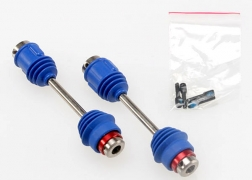 Traxxas 4951R Front-Rear Center Driveshafts : E-Maxx This is a Traxxas 4951R Front_Rear Center Driveshafts (1) : E-Maxx. Features: This is a pair of optional Traxxas Center Driveshafts for the E-Maxx. Outside U-joint is lubricated and sealed by a rubber boot to protect it from dirt and grimeU-joint pins are held captive by the ball bearings so you never have to worry about losing a pin. Traxxas metal CV shafts do not require you to limit your suspension travelINncludes: Two driveshafts with protective CV bootsCondition: Factory NewOperational Status: FunctionalThis item is brand new from the factory.Original Box: YesManufacturer: TraxxasModel Number: 4951RMSRP: $40.00Category 1: Other ToysCategory 2: Radio Control ToysAvailability: Ships in 3 to 5 Business Days.The Trainz SKU for this item is P12111115. Track: 12111115 - FS - 001 - TrainzAuctionGroup00UNK - TDIDUNK