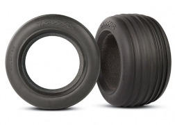 Traxxas 5563 Front Ribbed 2.8 Tires with Foam: Rustler, Stampede This is a Traxxas 5563 Front Ribbed 2.8 Tires with Foam: Rustler, Stampede. Features: Alias and ribbed super soft rubber compound tires feature a non-directional design for no-worry mounting. The ribbed front tire incorporates deep grooved ribs that dig into soft loamy surfaces for superior control. Alias rear tires integrate a rounded carcass and dual-pin design that steps-up to keep the tires firmly planted on extreme off road terrain.Condition: Factory NewOperational Status: FunctionalThis item is brand new from the factory.Original Box: YesManufacturer: TraxxasModel Number: 5563MSRP: $20.00Category 1: Other ToysCategory 2: Radio Control ToysAvailability: Ships in 3 to 5 Business Days.The Trainz SKU for this item is P12071855. Track: 12071855 - FS - 001 - TrainzAuctionGroup00UNK - TDIDUNK
