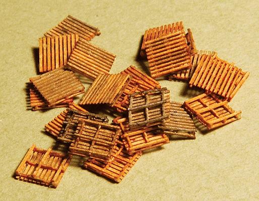 GCLaser 292-51105 Pallet pkg(24) - Kit (Laser-Cut Wood) 3/16 x 3/16 x