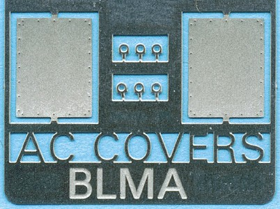 BLMA Models 91 Air Conditioner Cover Plate for Removed Units (2) (Ante This is a BLMA 91 N Air Conditioner Cover Plate for Removed Units pkg(2) (Antenna Stand Is Now #92). Great for park or school playground! Eight bicycles in four common American styles (including boy's and girl's models from 1940s to present) and one schoolyard-type bike rack. All parts bend to shape without assembly. Made from .010 brass.Condition: Factory New (C-9All original; unused; factory rubs and evidence of handling, shipping and factory test run.Standards for all toy train related accessory items apply to the visual appearance of the item and do not consider the operating functionality of the equipment.Condition and Grading Standards are subjective, at best, and are intended to act as a guide. )Operational Status: FunctionalThis item is brand new from the factory.Original Box: Yes (P-9May have store stamps and price tags. Has inner liners.)Manufacturer: BLMA ModelsModel Number: 91MSRP: $3.75Scale/Era: N ScaleModel Type: AccessoriesAvailability: Ships in 3 to 5 Business Days.The Trainz SKU for this item is P11464442. Track: 11464442 - FS - 001 - TrainzAuctionGroup00UNK - TDIDUNK