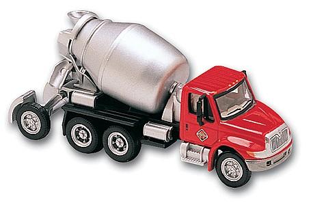 Boley 411116 1:87 Cement Mixer Red/Silver