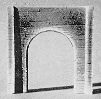 Pre-Size 213 Single Concrete Tunnel Portal