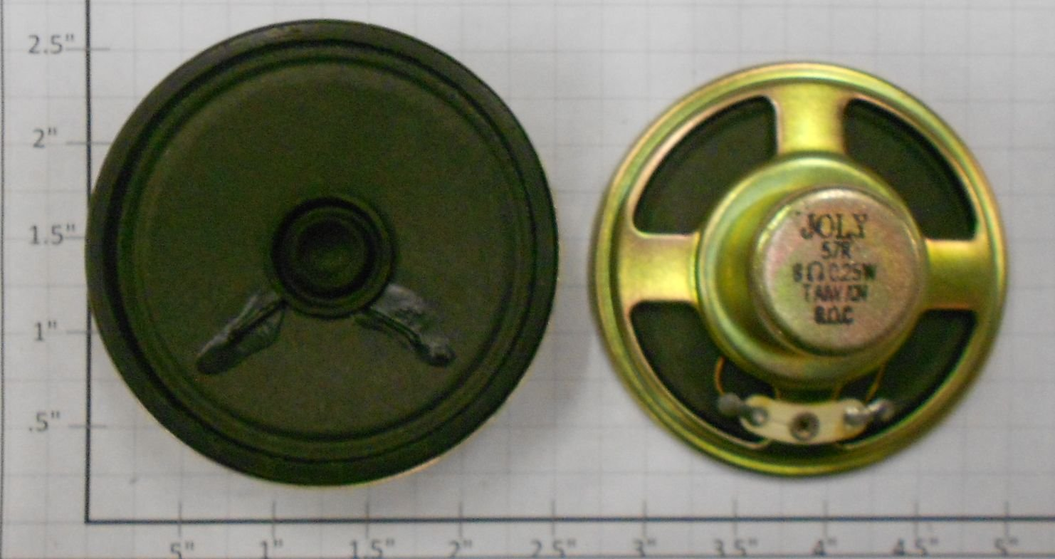 Lionel 18226-123 2-1/4  8 Ohm .2 Watt Dash 9 Speaker This listing is for 1 speaker. We show 2 in the picture for viewing on both sides. These came as either.2W or ,25W - there is no discernable difference.Condition: Part (N/ATrainz does not provide grading for parts.Standards for all toy train related accessory items apply to the visual appearance of the item and do not consider the operating functionality of the equipment.Condition and Grading Standards are subjective, at best, and are intended to act as a guide. )Operational Status: FunctionalThis part is in workable condition.Original Box: NoManufacturer: LionelModel Number: 18226-123Category 1: PartsCategory 2: O ScaleAvailability: Ships in 3 Business Days!We are unable to provide parts lookup service or fitment assistance.The Trainz SKU for this item is P11976291. Track: 11976291 - Parts (4G6) - 001 - TrainzAuctionGroup00UNK - TDIDUNK
