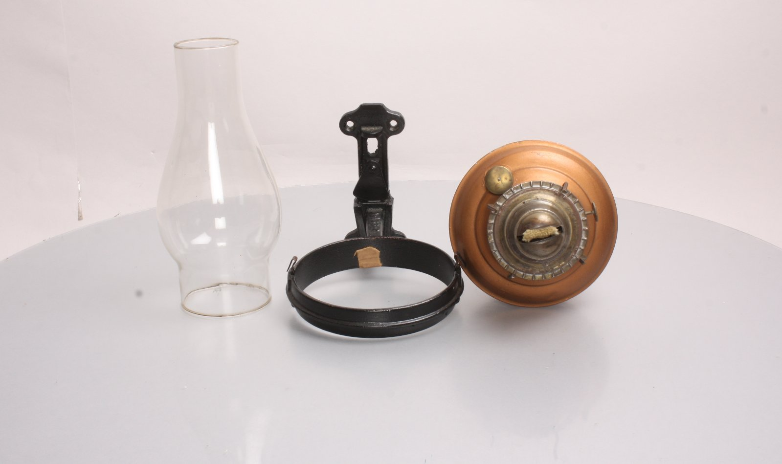 Vintage NEW York Central Wall Mounted Hurricane OIL Lamp eBay