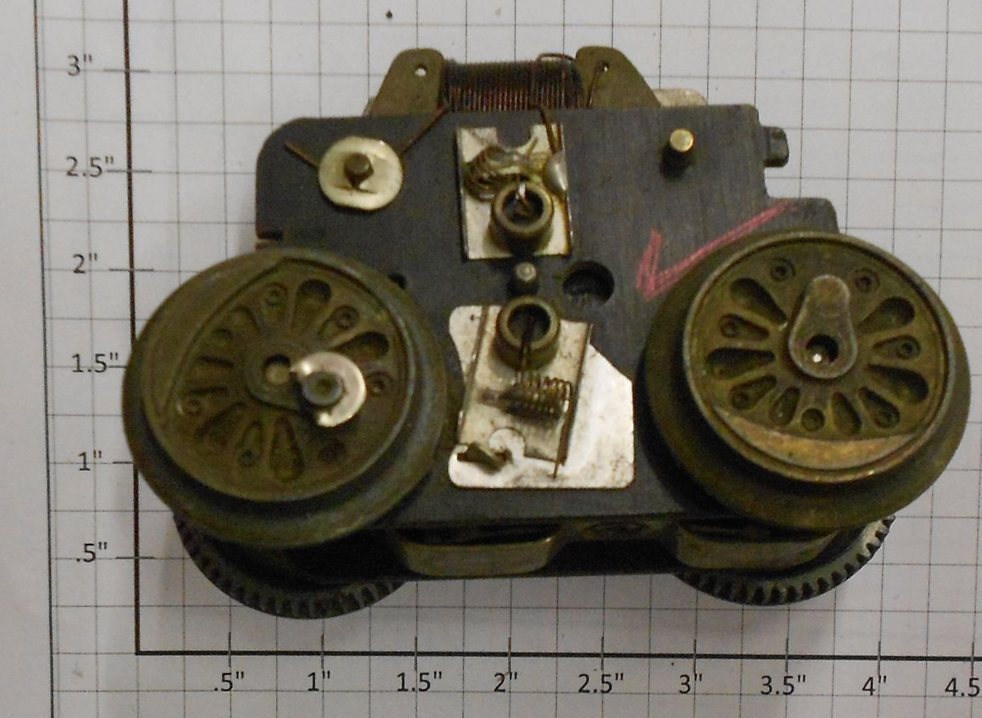 Marx Mx 10 Marx Simple Motor Chassis For Steam Engine Ebay