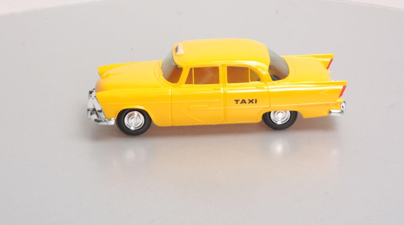 Jo han 1956 plymouth belvedere 4 door h t yellow taxi for 1956 plymouth belvedere 4 door