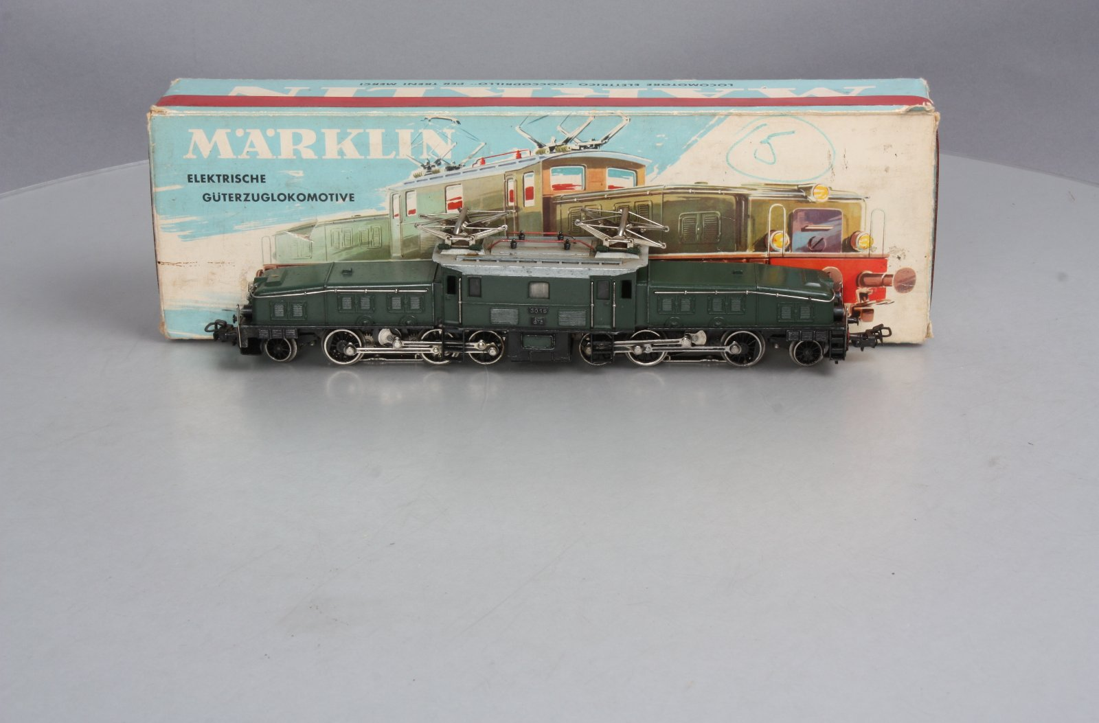 Z Scale Crocodile Marklin 3015 HO Scale ...