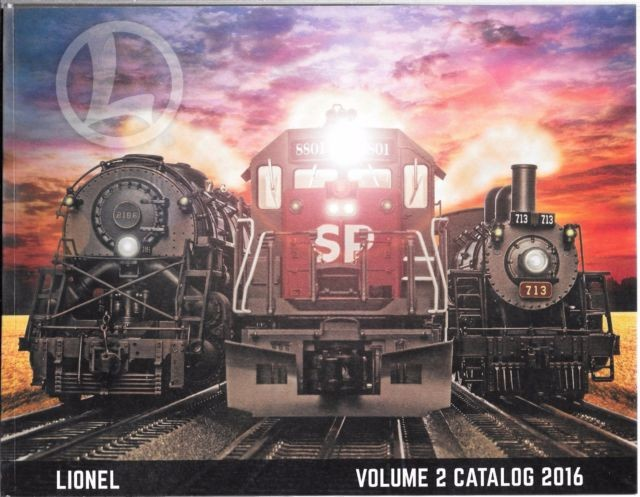 Details about Lionel 6-83808 2016 Volume 2 Signature Catalog