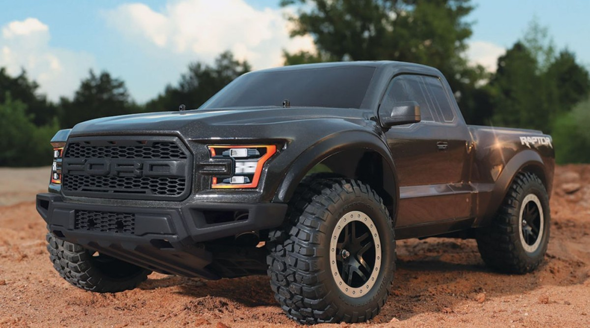 traxxas 580941 1 10 2017 2wd ford raptor ready to run with. Black Bedroom Furniture Sets. Home Design Ideas