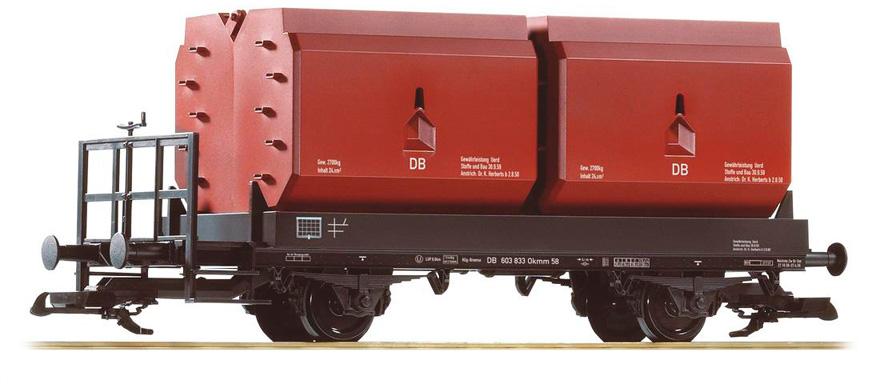 Piko 37770 G Deutsche Bahn III Coal Container Car