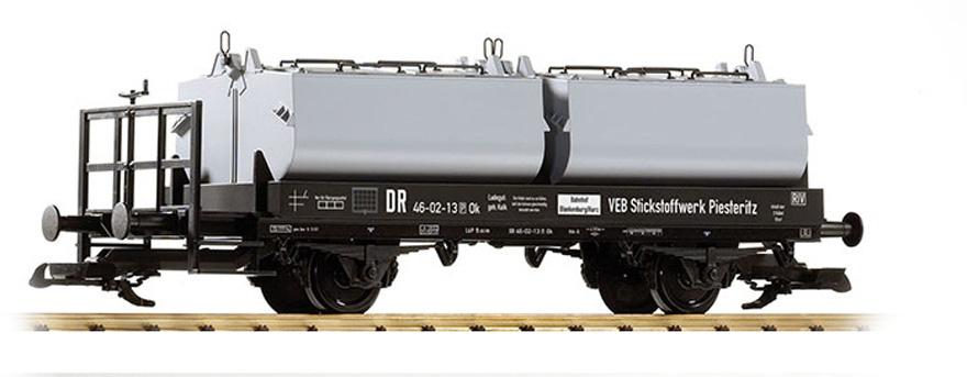 Piko 37771 G Deutsche Reichsbahn IV Lime Container Car
