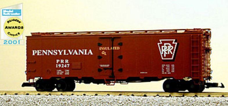 USA Trains 16517 G Pennsylvania Railroad 40' Refrigerator ...