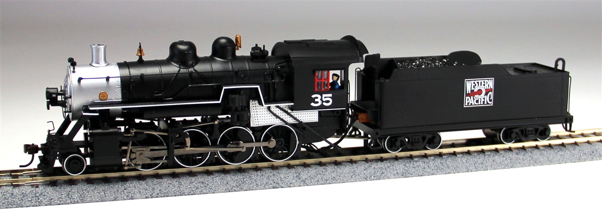 Bachmann 51316 HO Western Pacific 2-8-0 Consolidation