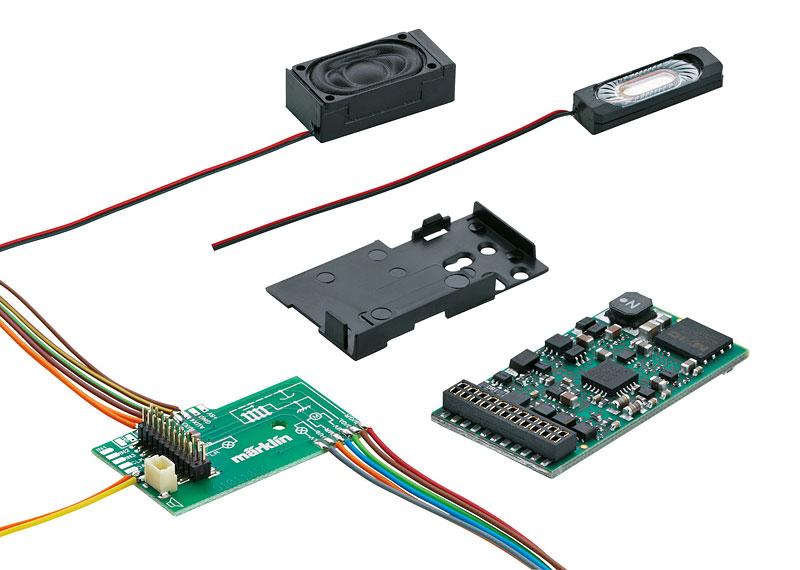 Marklin 60975 HO mSD3 Sound Decoder Steam Loco