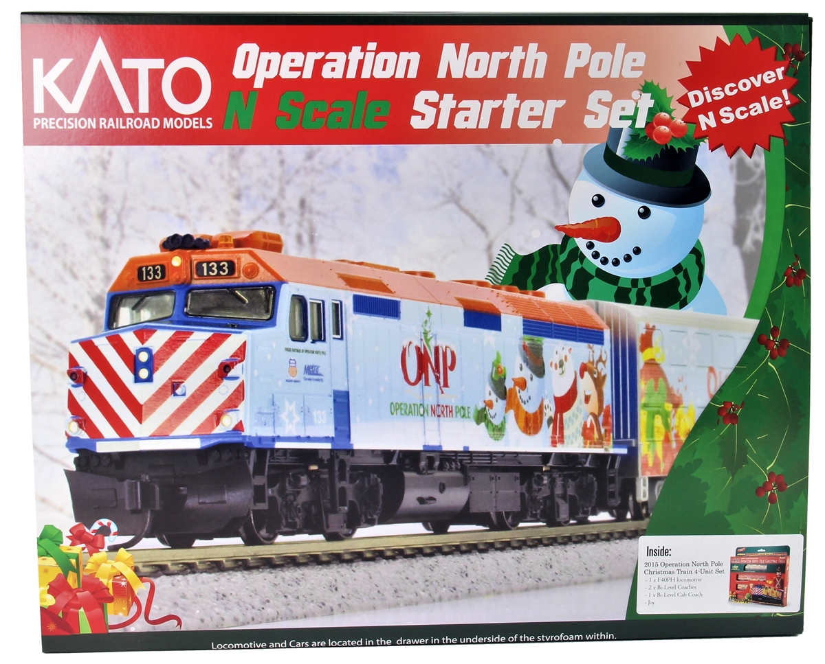 North Pole Christmas Train | www.topsimages.com