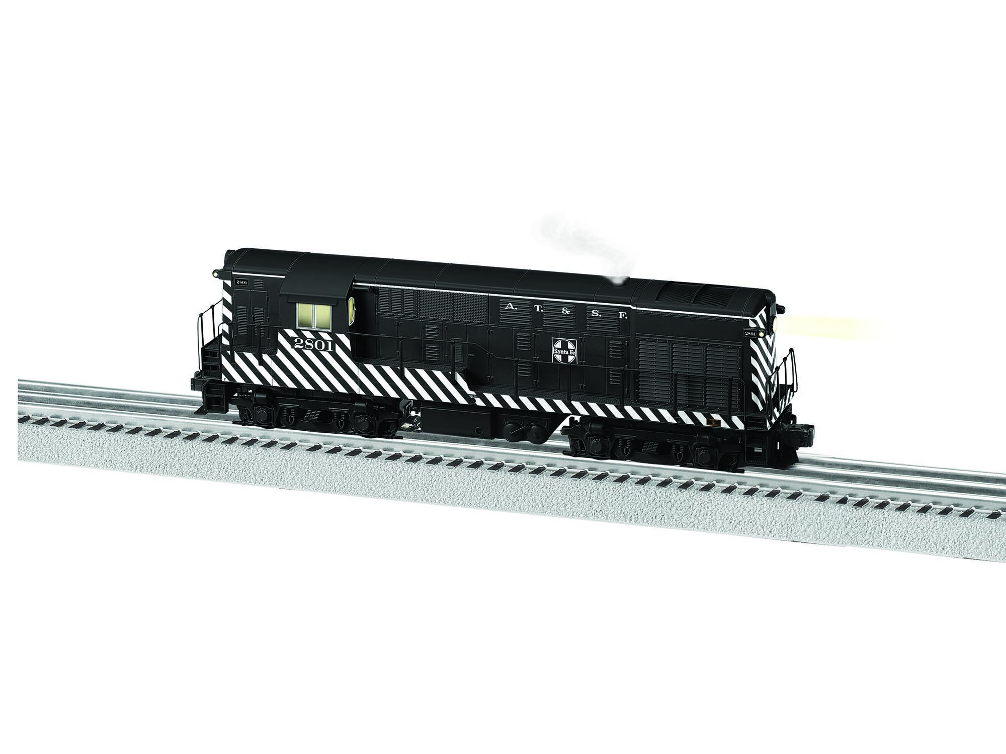 Lionel 6-83397 o Santa Fe H16-44 diesel loco con Legacy 2801 (BTO)